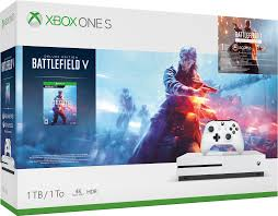 XBOX ONE S 1TB ו BATTLEFIELD V