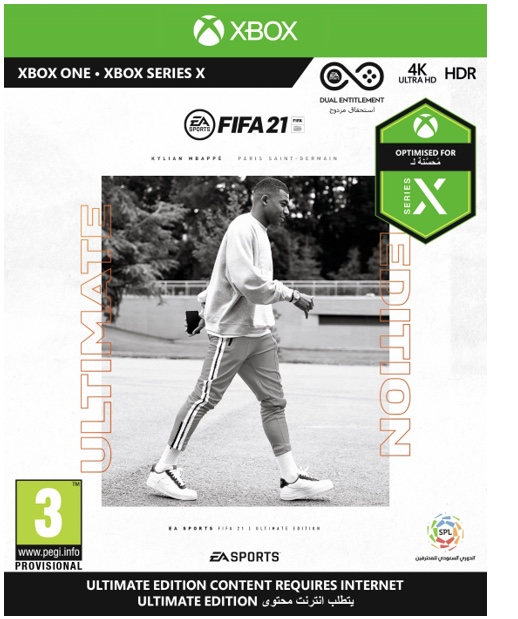 FIFA 2021 ULTIMATA EDITION XBOX ONE