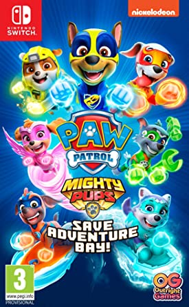 מכירה מוקדמת - PAW PATROL MIGHTY PUPS SAVE ADVENTURE BAY