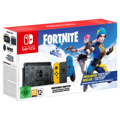 קונסולת נינטנדו סוויץ' Fortnite Special Edition