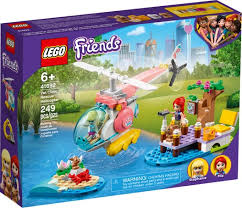 LEGO FRIENDS - מסוק חילוץ וטרינרי