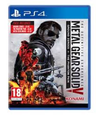 metal gear solid v the phantom pain + ground zero - PS4