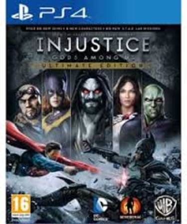 INJUSTICE:GODS AMONG US - PS4