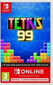 NINTENDO SWITCH - ONLINE + TETRIS